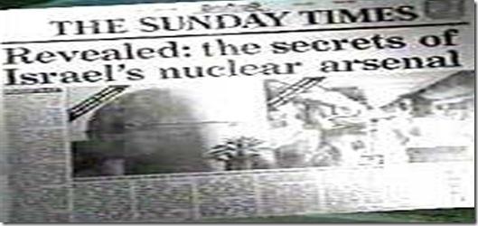 vanunu- sunday times